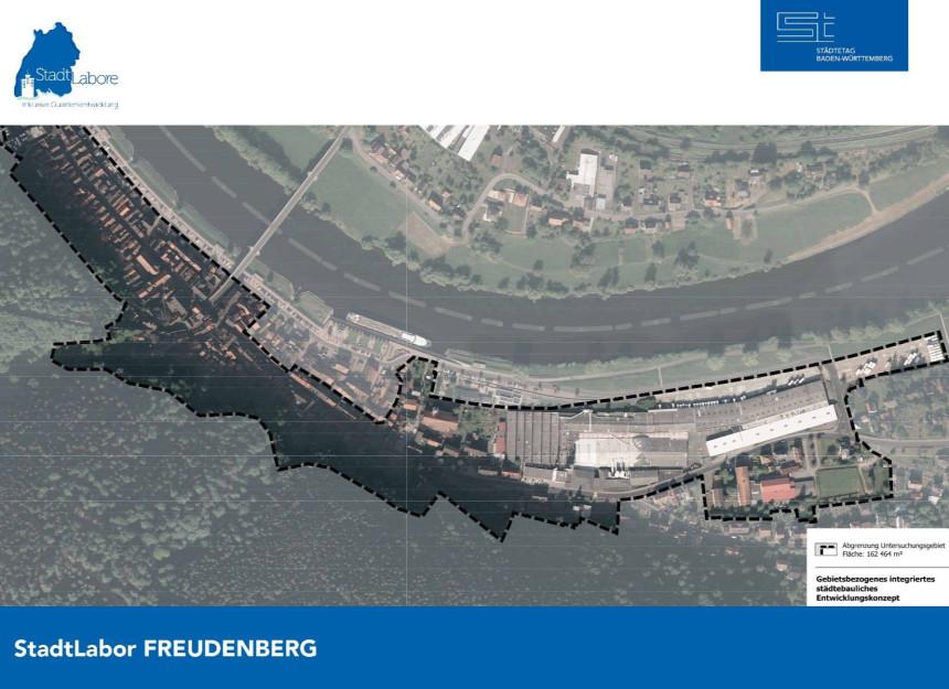 Luftbild des Freudenberger Quartiers.
